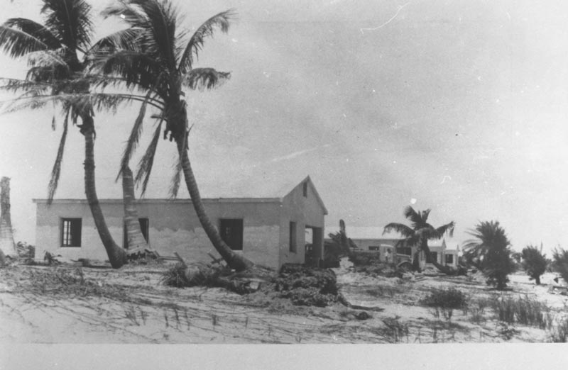 Red Cross houses built for survivors of the <br/>Russell family on Upper Matecumbe