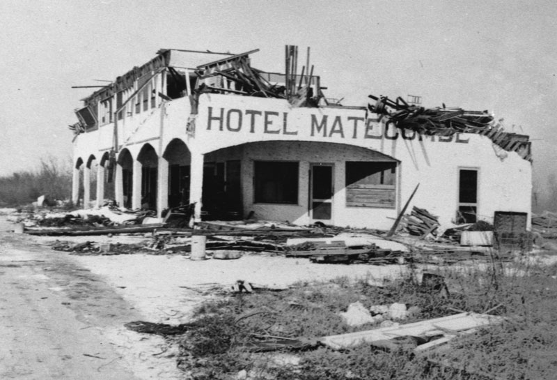 Remains of the Hotel Matecumbe